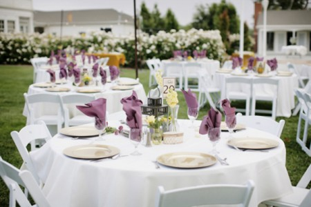 Come disporre gli invitati ai tavoli