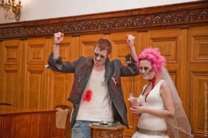 Matrimonio stile Halloween