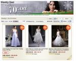 Abiti da sposa online
