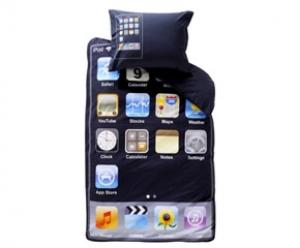 Lenzuola iPhone per il letto dei bambini