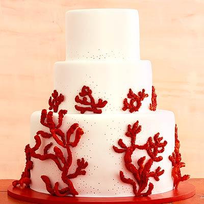 Rosso corallo come tema del matrimonio