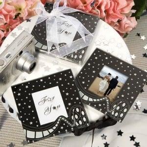 Matrimonio Tema Cinema : Fragola lilla bomboniere segnaposto in tema cinema matrimonio