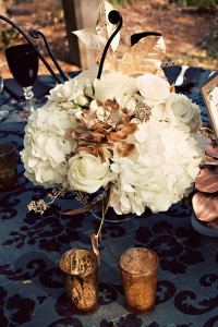 Centrotavola per matrimoni in autunno