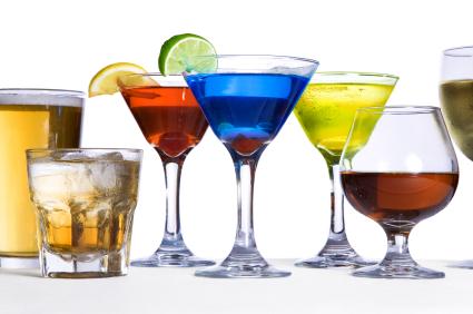 bevande gassate e alcoliche