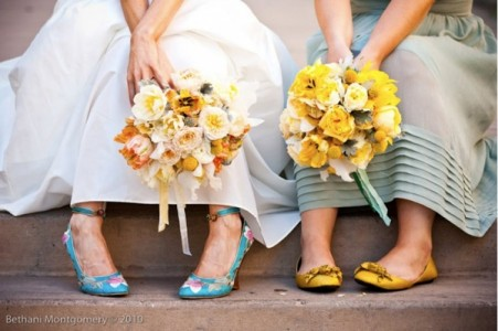 Conservare il bouquet da sposa