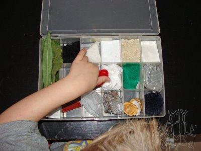 Come fare una scatola sensoriale