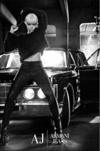 Armani Jeans e Rihanna ADV collezione 2011 2012