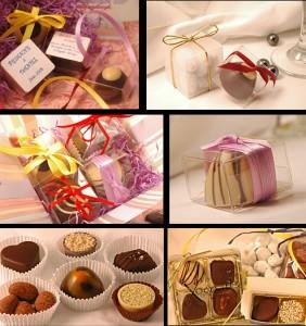 Bomboniere matrimonio a tema cioccolato