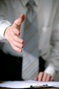 Mani curate al colloquio di lavoro