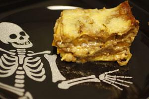 Galleria foto - Primo piatto per Halloween: lasagne alla zucca Foto 1