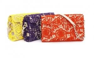 Borsa in pizzo colorato Blumarine collezione 2011 2012