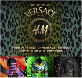 Facebook e Polyvore per vincere 3 look Versace for H&M