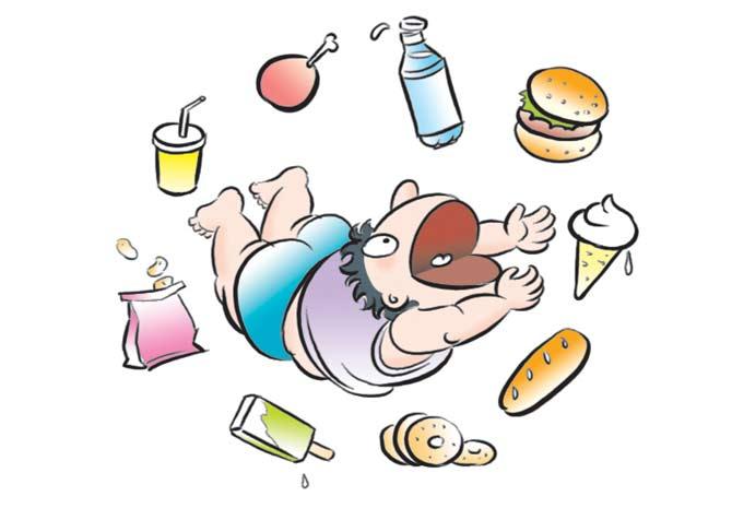 obesità ragazzi