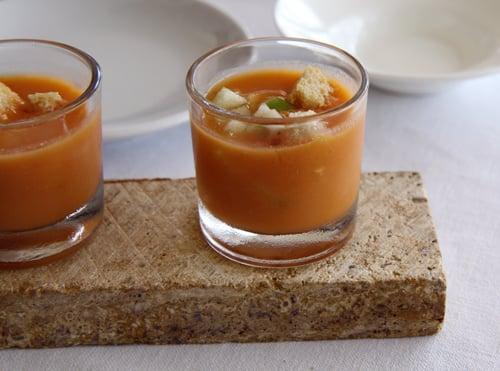centrifugato di mele e carote
