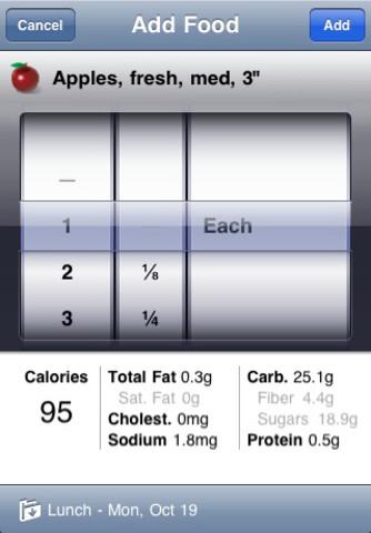 Applicazioni dieta iphone
