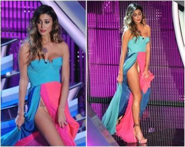 Le non mutande di Belen al Festival di Sanremo 2012