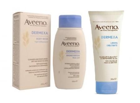 Aveeno: prodotti per combattere la pelle secca