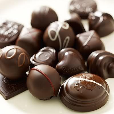 Cioccolatini e caramelle calorie