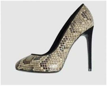 Dolce & Gabbana scarpe in pitone per l' inverno