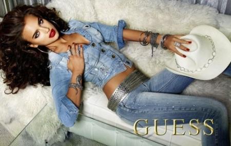 Guess Jeans Campagna 2012 con Irina Shayk