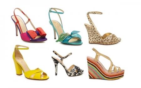 Scarpe in color block per l'estate 2012