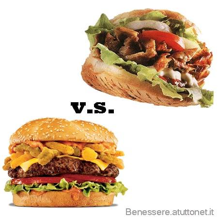 kebab hamburger