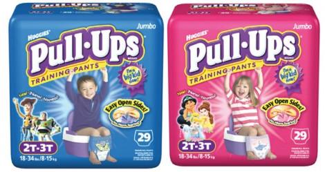 Huggies Pull Ups: i pannolini per lo spannolinamento