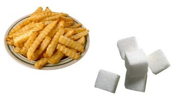 zuccheri e fritti