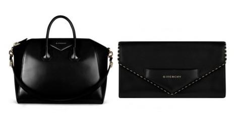 Givenchy borse collezione 2012 in pelle nera.