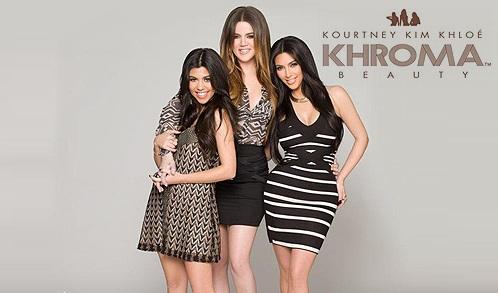 Khroma Beauty linea delle sorelle Kardashian