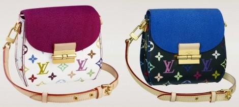 più economico 2cd69 b46d7 Louis Vuitton tracolla colorata per l' inverno