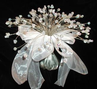 Bouquet sposa Swarovski