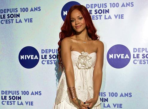 Galleria foto - Nivea addio Rihanna Foto 1