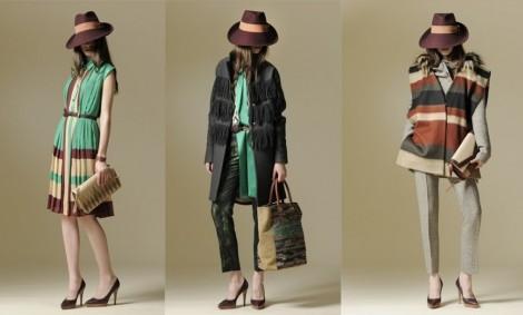 Borbonese autunno inverno vintage collezione 2012 2013