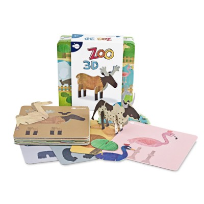 Natale Bambini: libro Zoo 3D