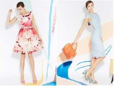 Alice + Olivia abiti vintage collezione 2013