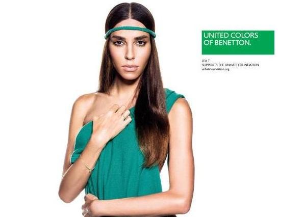 Benetton sceglie Lea T come testimonial