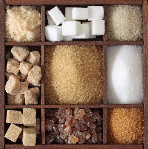Fruttosio, zucchero bianco o di canna?