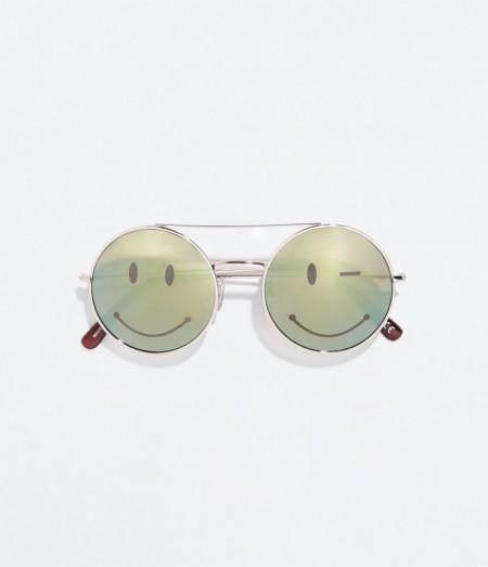 Zara occhiali da sole con sorriso