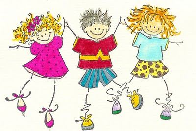cartoon-children-playing