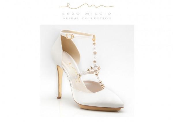 Super carino Garanzia di soddisfazione al 100% materiali superiori Enzo Miccio speciale calzature sposa 2015