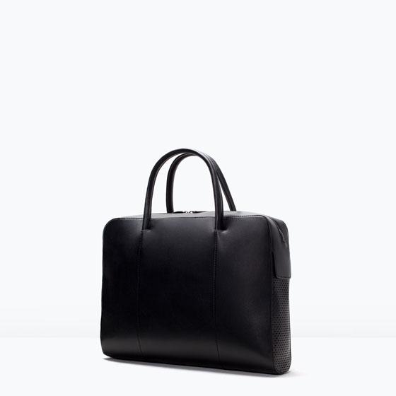 vasta selezione di c3fef 420a0 Zara borse uomo collezione inverno