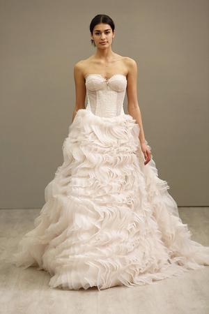 Lazaro collezione sposa abiti 2016