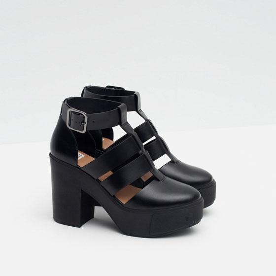Zara TRF scarpe donna autunno inverno 2015 2016 chelsea boots 4dfa8f5dcc2