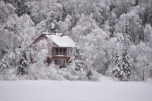 chalet matrimonio inverno