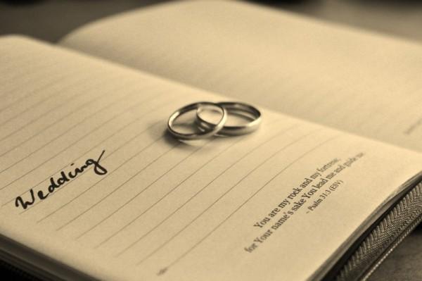 registro sposi matrimonio