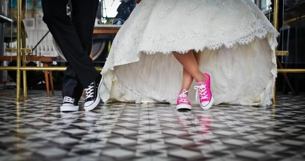 scarpe da sposa tennis