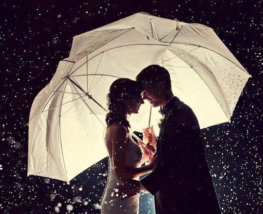 Ombrello per la sposa: foto, consigli e colori