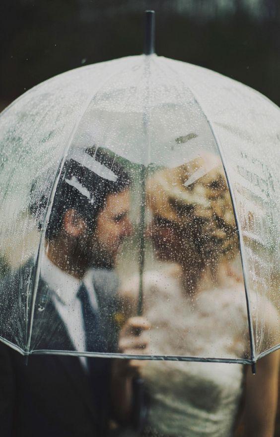 7ace01587e03 Come usare l ombrello da sposa. ombrello sposa trasparente