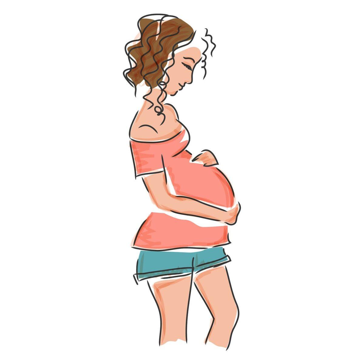 Caduta capelli gravidanza allattamento